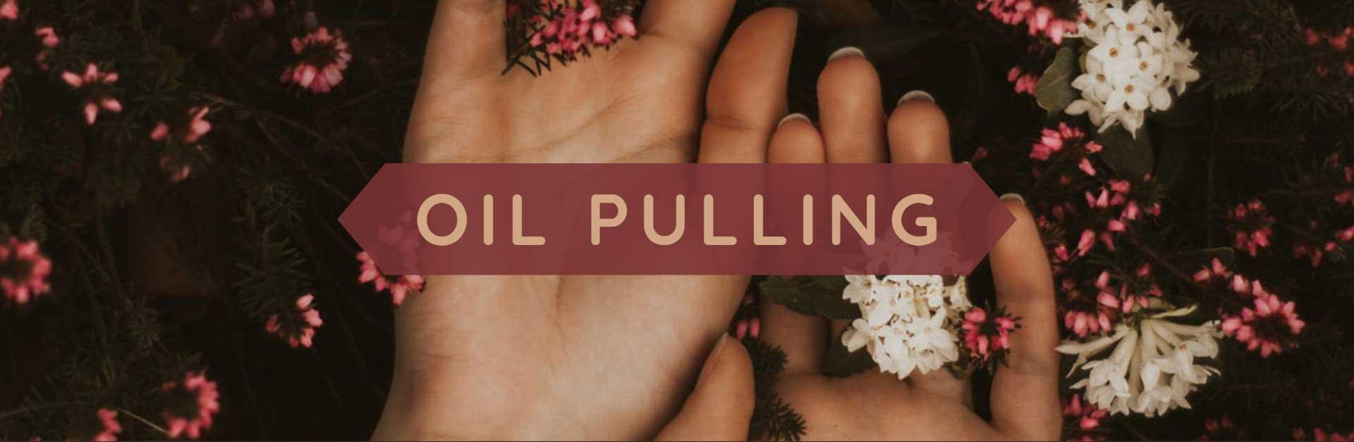 Copertina oil pulling
