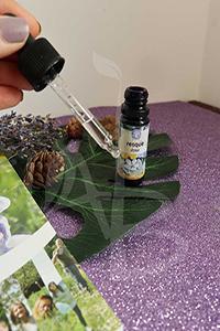 Packaging con boccetta e dosatore Resque cure