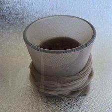 Tecnica di filtratura del gel di semi di lino