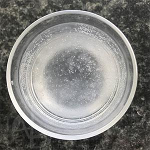 Katira idratata in acqua