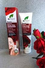 Creamy Face Wash Rose Otto - Dr. Organic