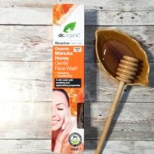 Packaging secondario dei Face Wash di Dr. Organic