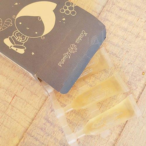 Dettaglio packaging lozione La Saponaria