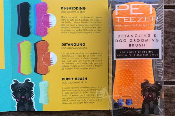 Detangling Dog Grooming Brush Pet Teezer