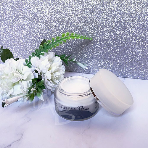 Packaging crema viso AmaTè linea Chiocciolina