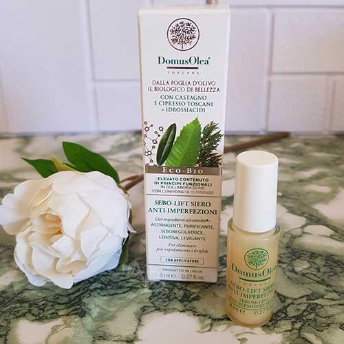 Packaging siero anti-imperfezioni Domus Olea Toscana