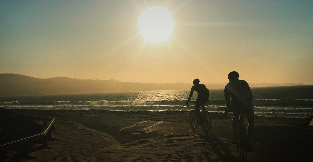 Pedaling down the California Coast
