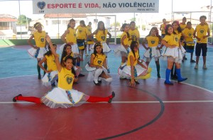Apresentação na sede da LBV Aracaju Foto: Augusto Santorini