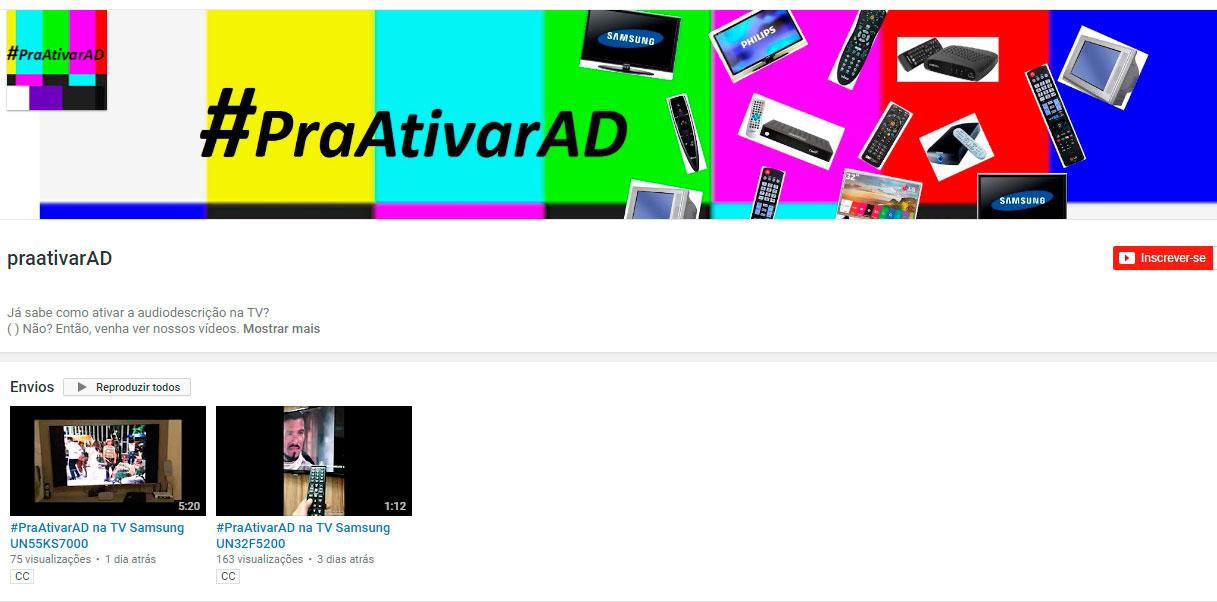 #PraAtivarAD: Sabe ativar a audiodescrição na televisão?