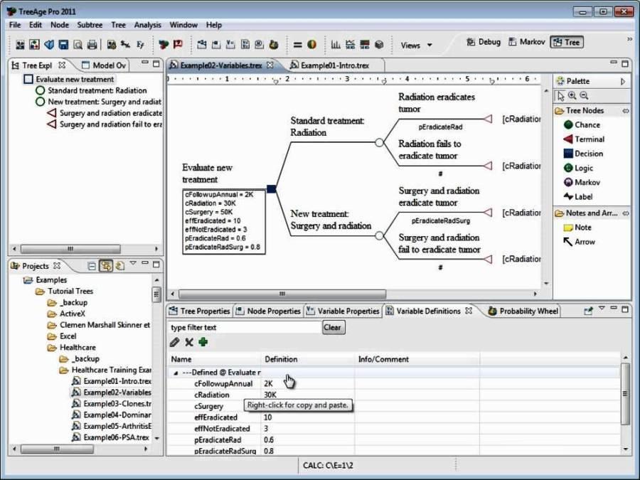 un software poderoso de toma de decisiones