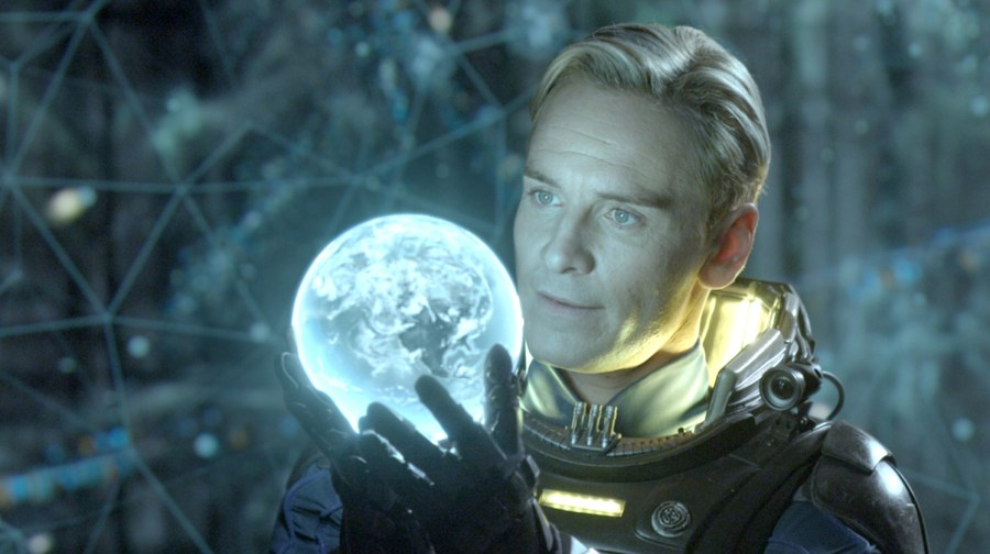 Michael Fassbender plays a replicant in Ridley Scott's Prometheus.
