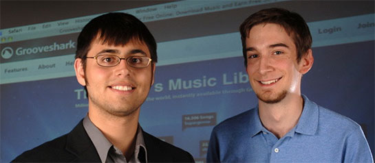 grooveshark Top Young Entrepreneurs Making Money Online