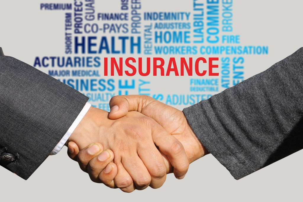 Save on Insurance Handshake