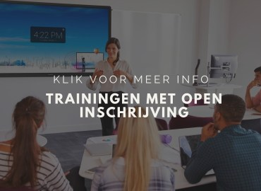 Open trainingen