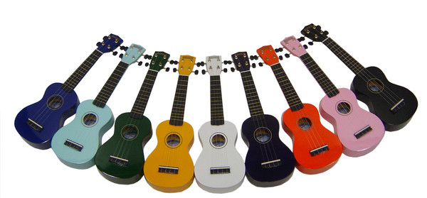 Lots of Ukuleles