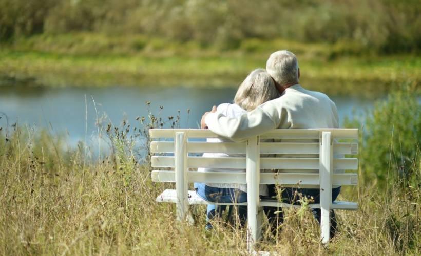 elderly couple incontinence