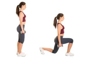 Weighted Lunge