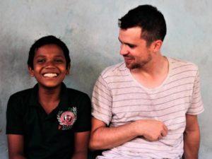 Mauro stagista di Incontro fra i Popoli in Sri Lanka