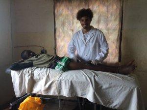 Damiao stagista di Incontro fra i Popoli in Camerun