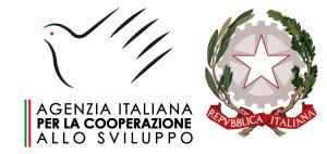 Loghi AICS e Repubblica Italiana