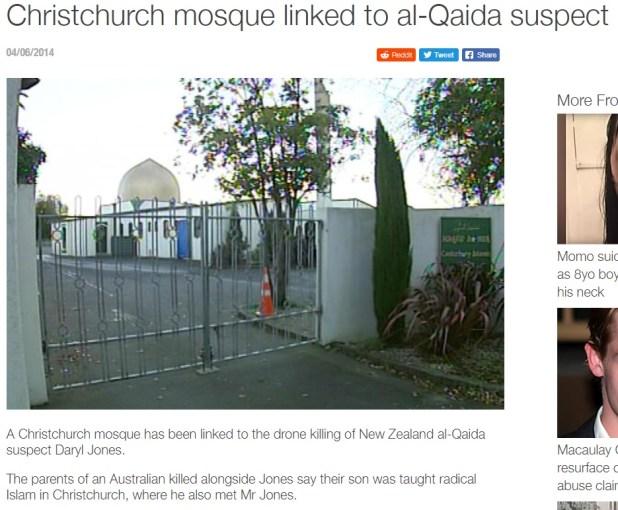 Noua Zeelandă Mossad