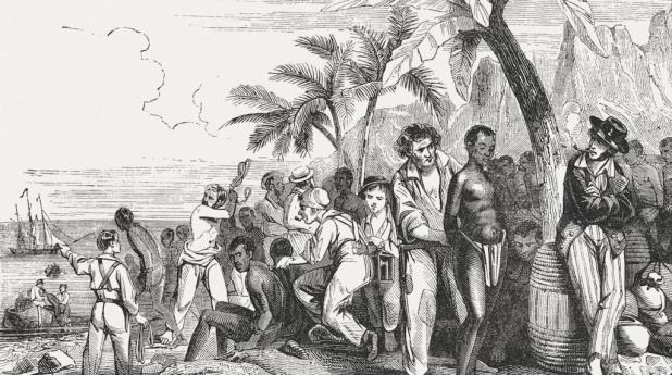 Jewish Domination of Slave Trade