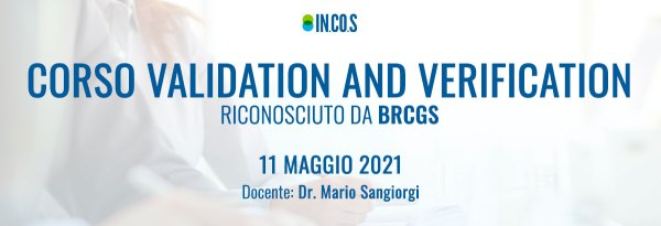 Corso Validation and Verification riconosciuto da BRCGS