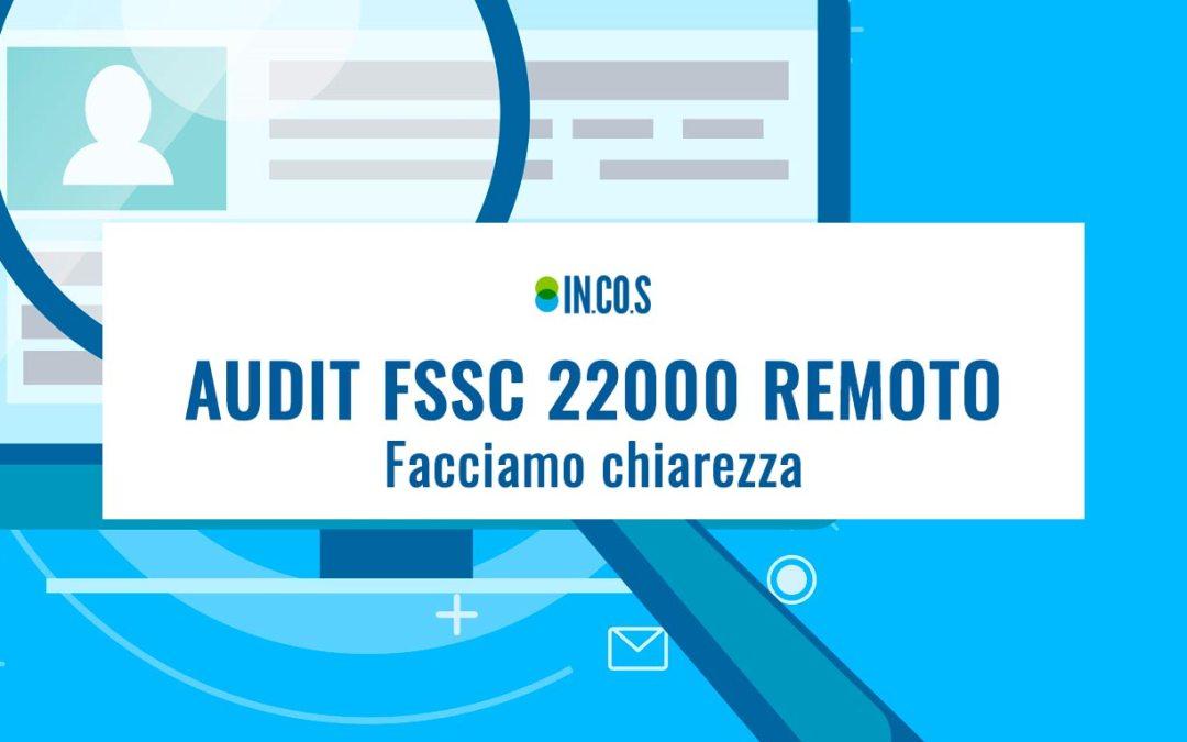Audit FSSC 22000 remoto