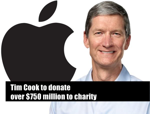 Apple CEO Tim Cook plans to donate all his money to ...
