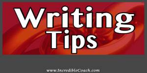 Writing Tips for coaches