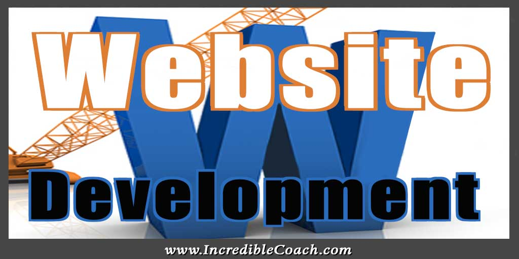 Webstie development for coaches