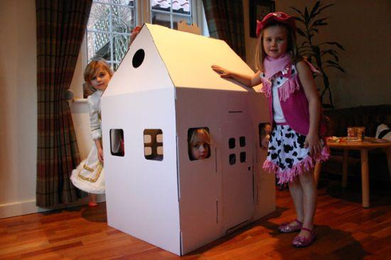 cardboard doll house MYDcL 59