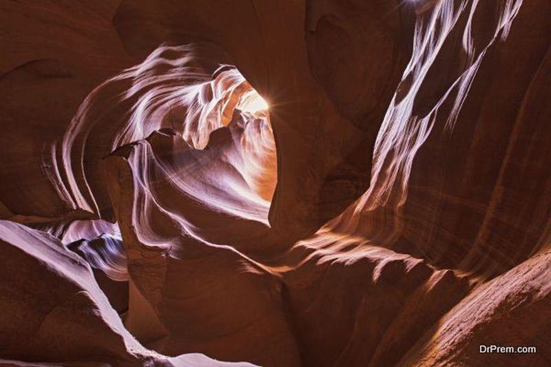 Antelope Canyon Arizona in the United States