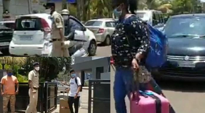 Goa Seafarers going home