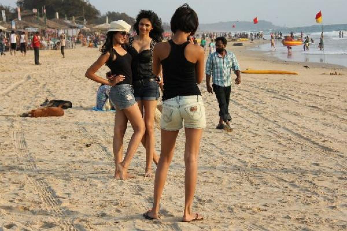 Tourist-in-Goa