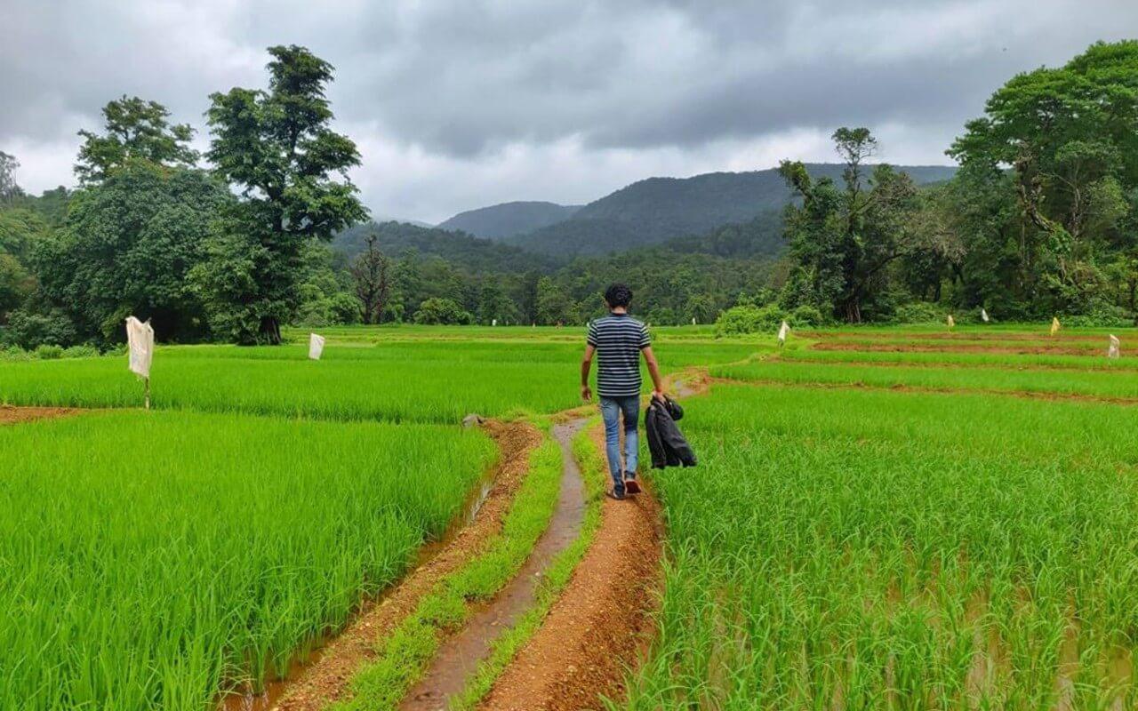 Trekking towards nature