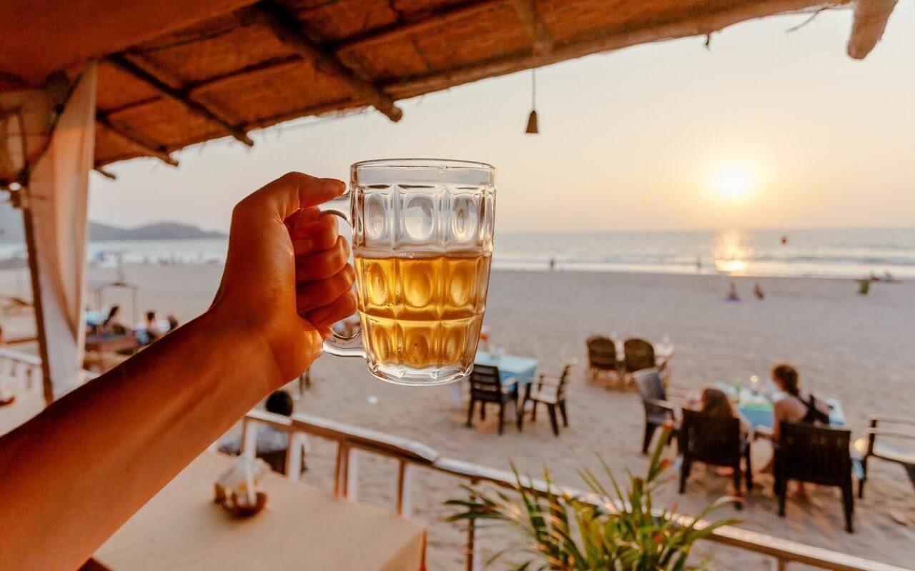 Beach Shack in Goa