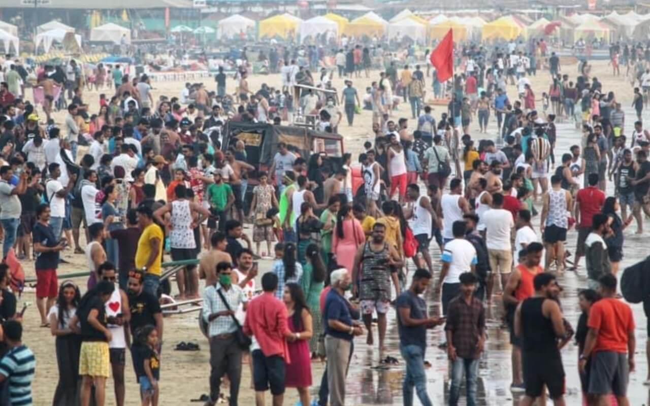 Domestic Tourists in Goa