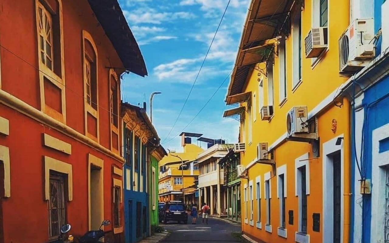Colourful Goan Houses