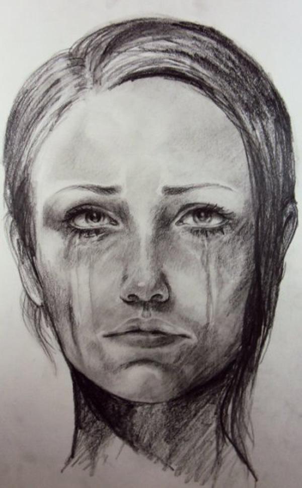 Sad Drawings Easy Beautiful