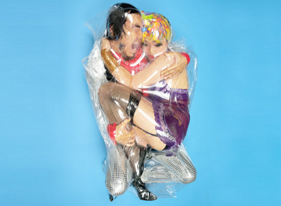 Flesh Love: Couples Vacuum-Sealed Together
