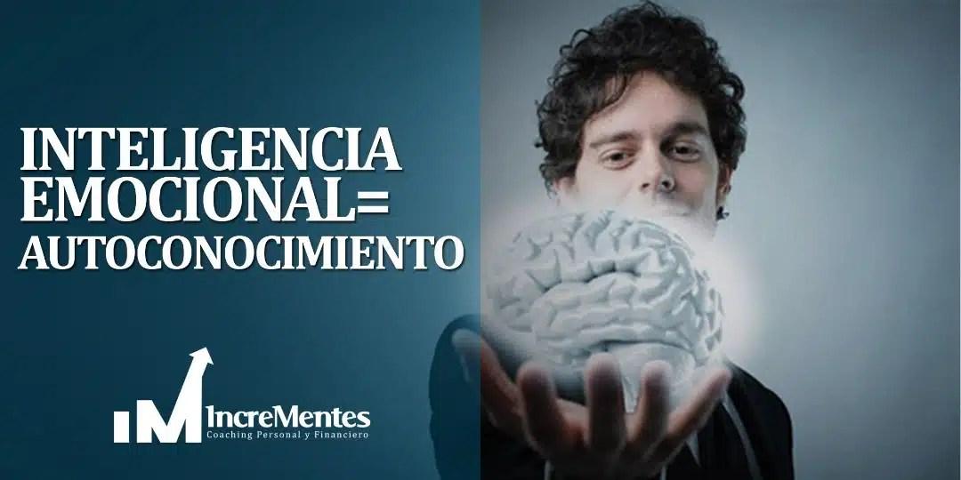 Inteligencia emocional = autoconocimiento