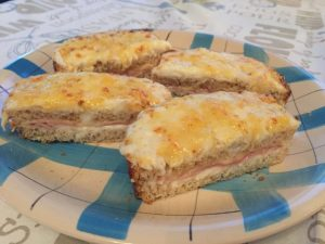 Croque Monsieur - toast gustoso