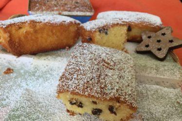 Miniplumcake al mandarino senza burro, con gocce di cioccolato