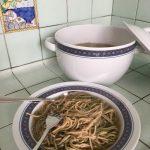 Tagliolini alle ortiche e al Kamut con brodo vegetale