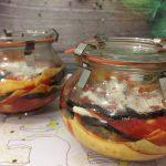 Lasagna di parmigiana in vasocottura al microonde