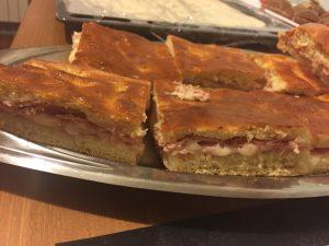 Torta Valdostana con prosciutto e fontina