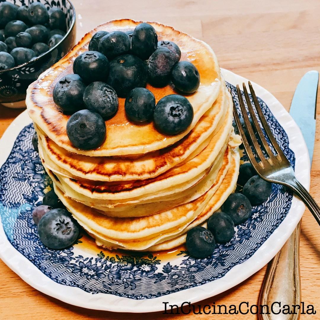 Pancakes all'acqua