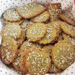 Ricetta Crackers di piselli