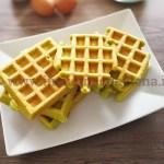 Ricetta Waffle di piselli